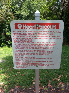 Heart Parcourse Carlin Park